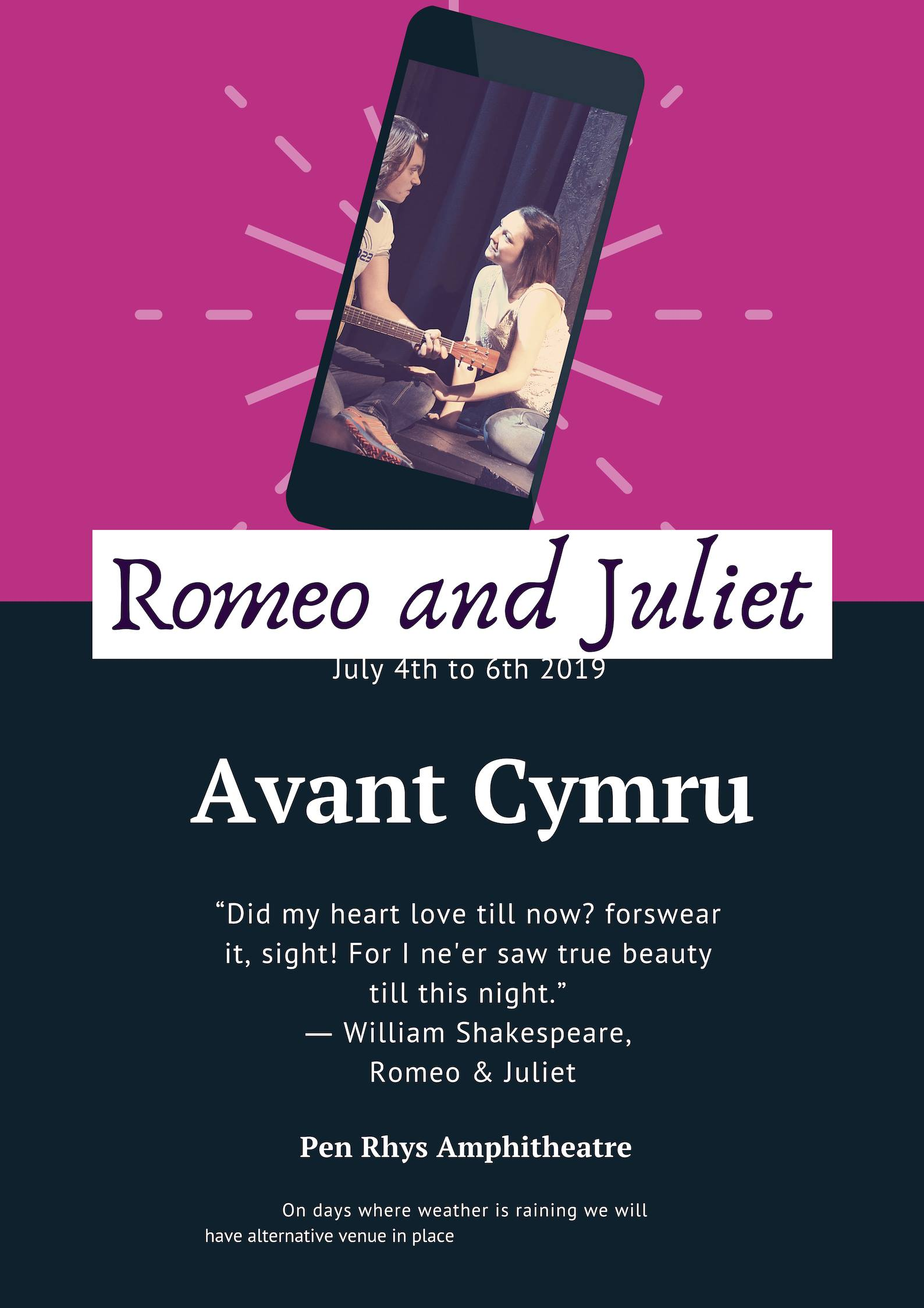 Romeo and Juliet banner image