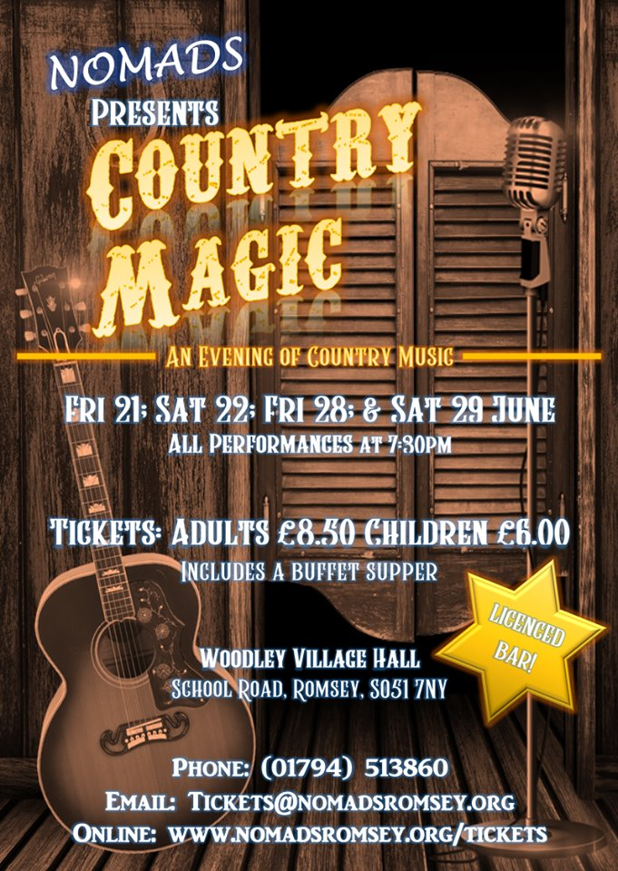 Country Magic - An evening of Country and Western music banner image