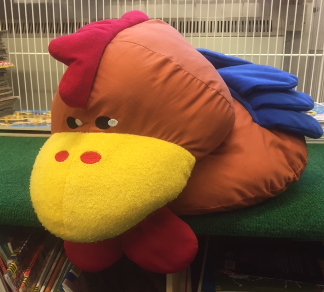 Southwold Library Animal Adoption - Cuthbert the Chicken banner image