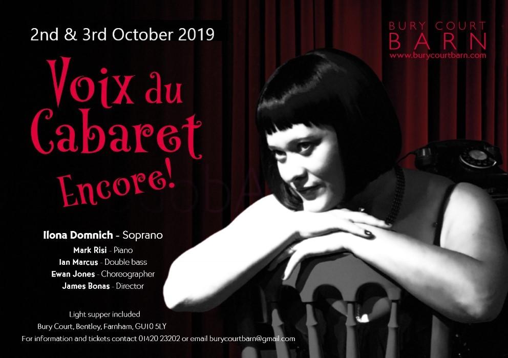 Voix du Cabaret Encore! banner image