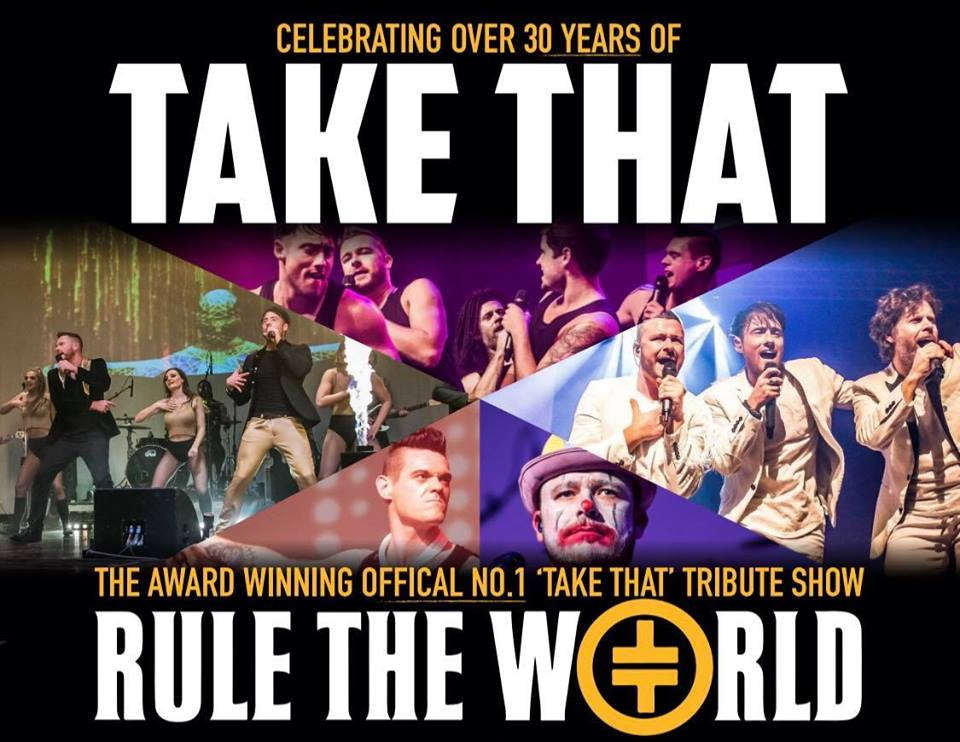 RULE THE WORLD - THE ULTIMATE TAKE THAT EXPERIENCE banner image
