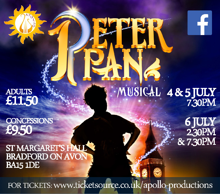 Peter Pan the Musical banner image