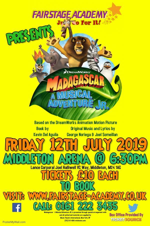 Madagascar - A Musical Adventure JR. banner image