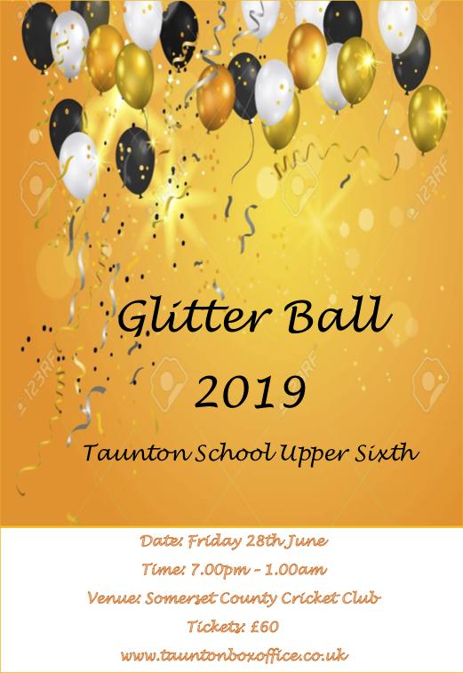 Upper Sixth Leavers 'Glitter Ball 2019' banner image
