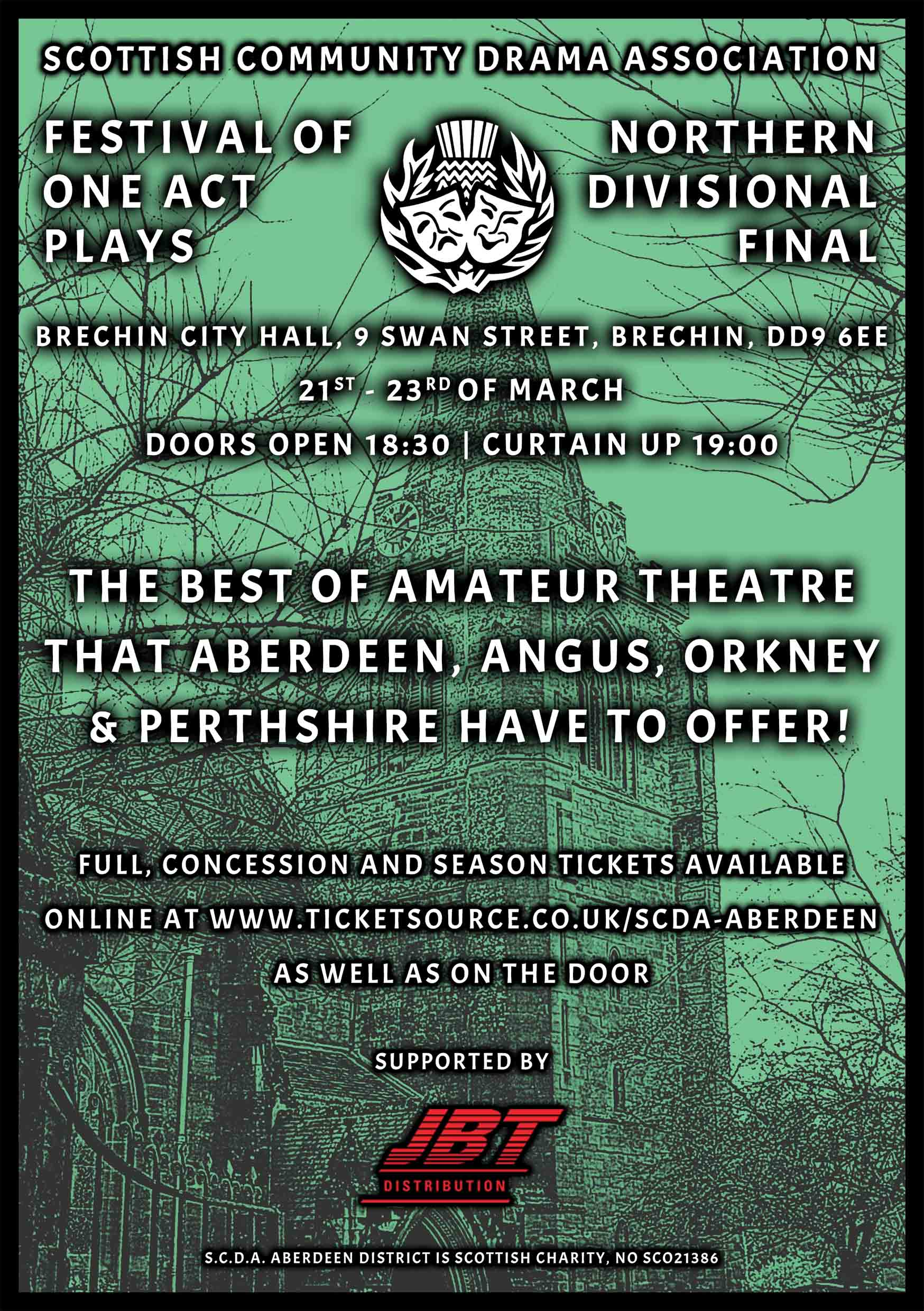 S C D A  Festival of One Act Plays 2019: Northern Divisional