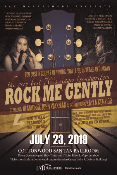 """70's"" TRIBUTE - ROCK ME GENTLY banner image"