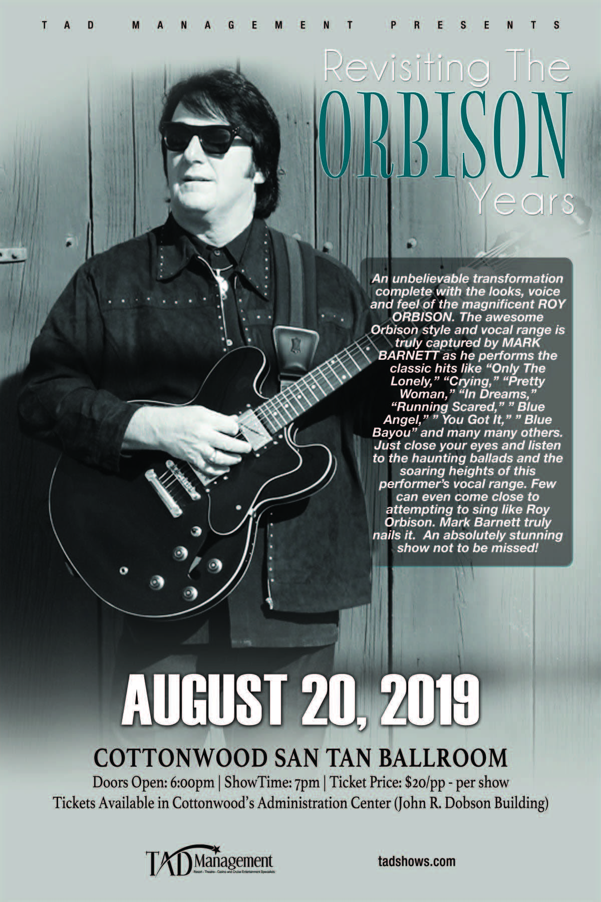 ORBISON YEARS banner image