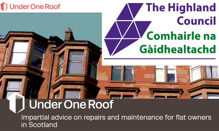 Private Landlords in the Highlands - Dealing with Common Repairs in Flats banner image
