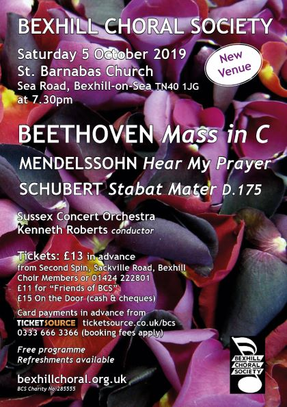 Beethoven Mass in C banner image