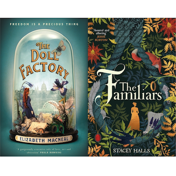 Hiscox Debut Authors - Elizabeth Macneal and Stacey Halls banner image