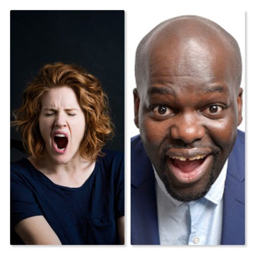Sarah Kendall AND Daliso Chaponda -  The Comedy Agency and Levy Fringe 2019 banner image