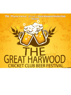 Great Harwood Cricket Club Beer Festival 2019 banner image