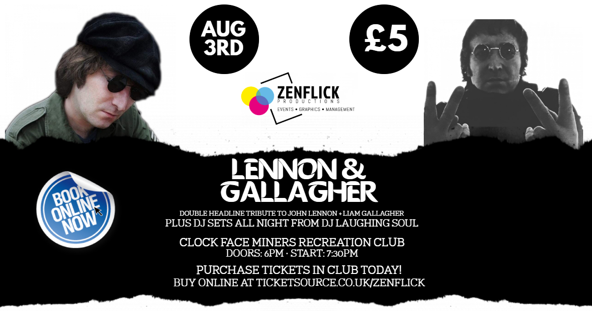 Lennon & Gallagher banner image