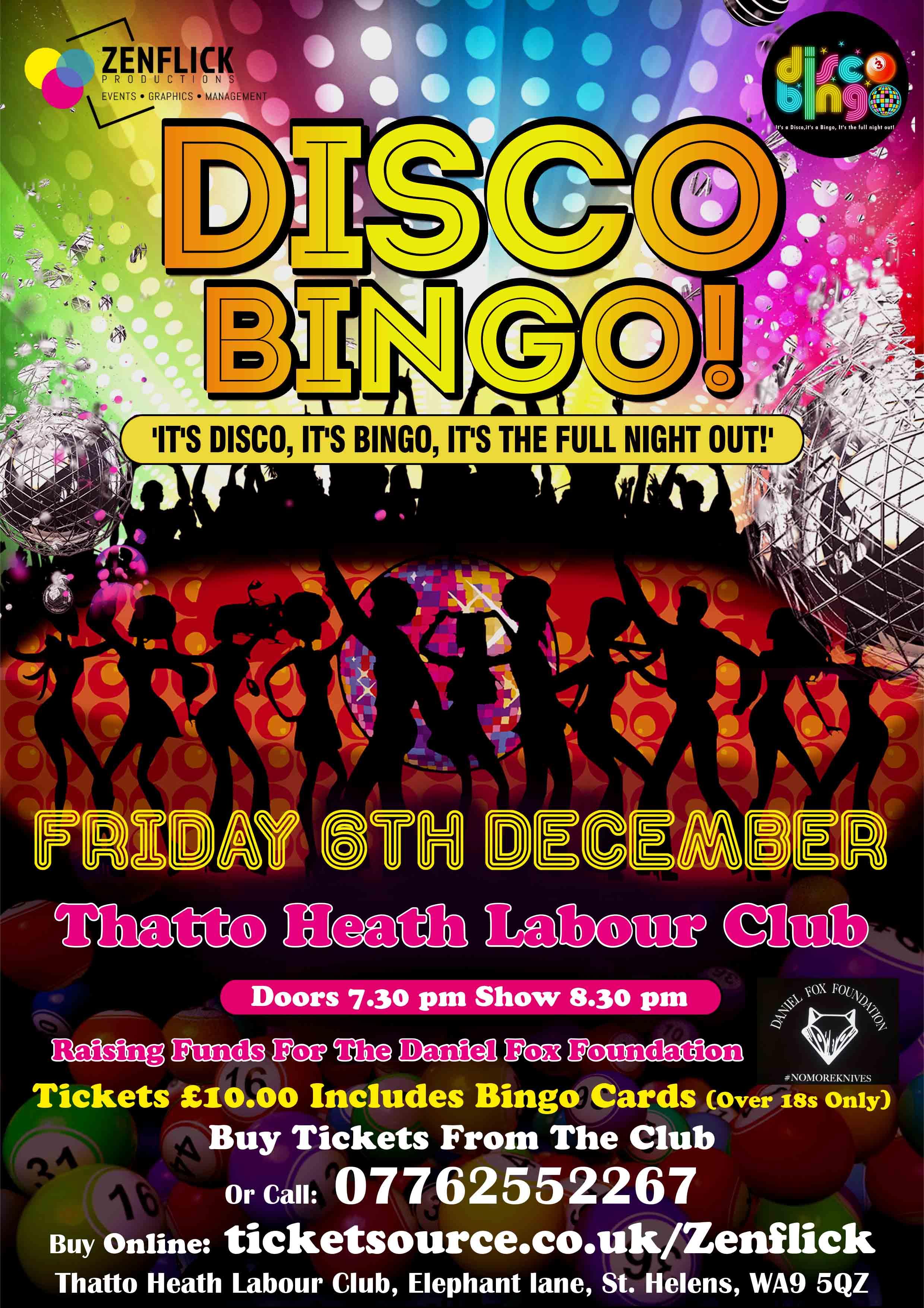 Disco BINGO! banner image