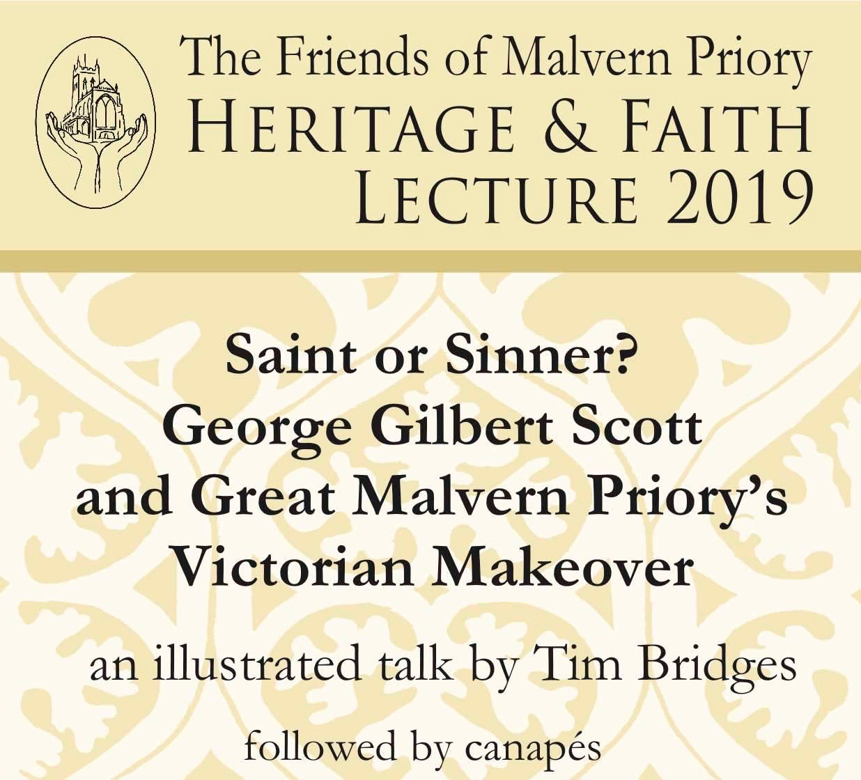 Saint or Sinner? George Gilbert Scott and Great Malvern Priory's Victorian Makeover banner image