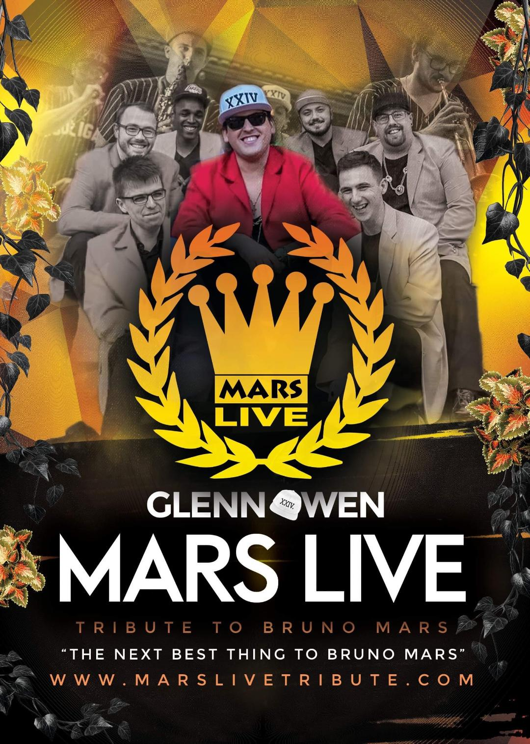 Mars Live a tribute to Bruno Mars banner image