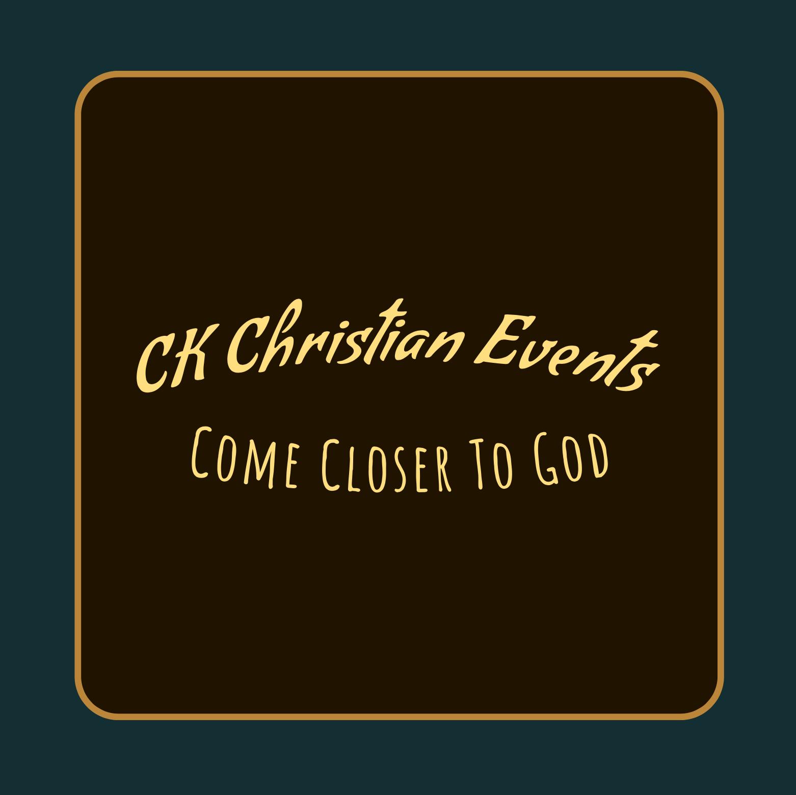 Summer Christian Concert   Nottingham banner image
