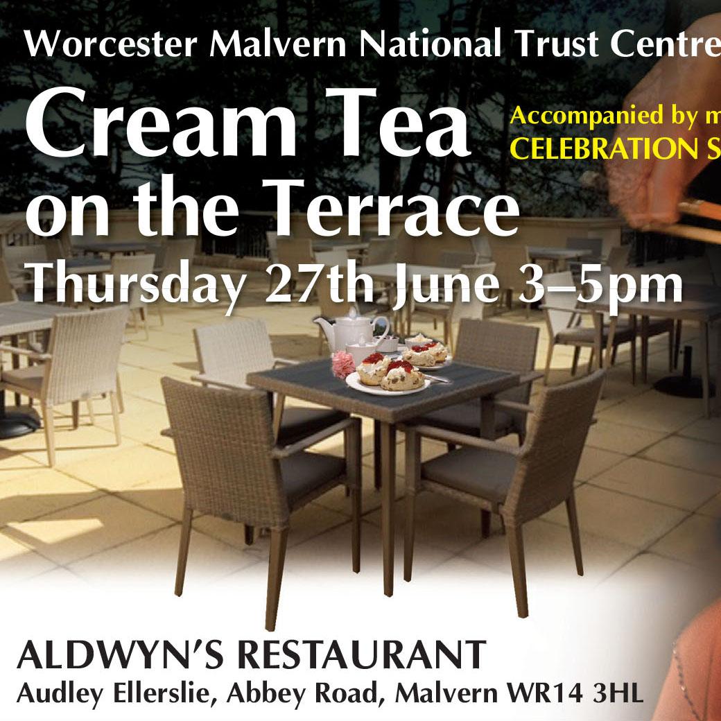 Cream Tea on the Terrace banner image