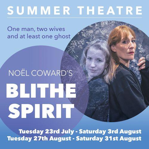 'Blithe Spirit' by Noel Coward banner image