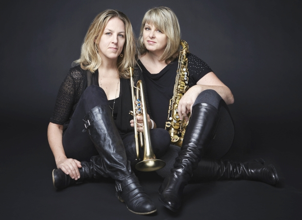 Ingrid & Christine Jensen with the Whirlwind Jazz Orchestra banner image