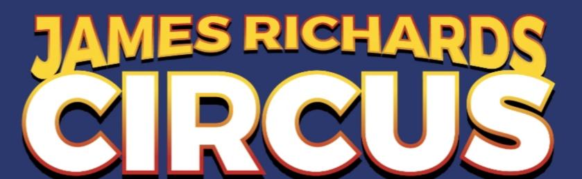 James Richards Circus Wigton banner image