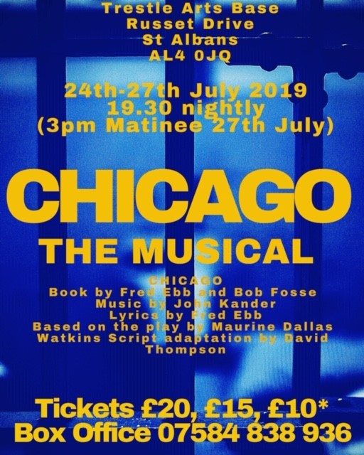CHICAGO - The Musical banner image