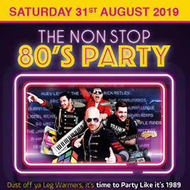 80's Hype - Non Stop 80's Party banner image