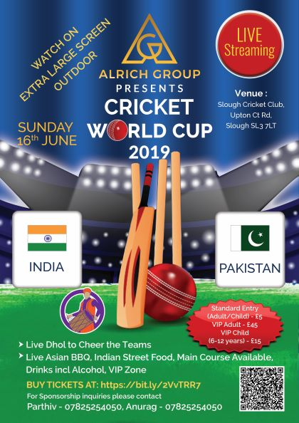 ICC World Cup 2019 - India Vs Pakistan banner image