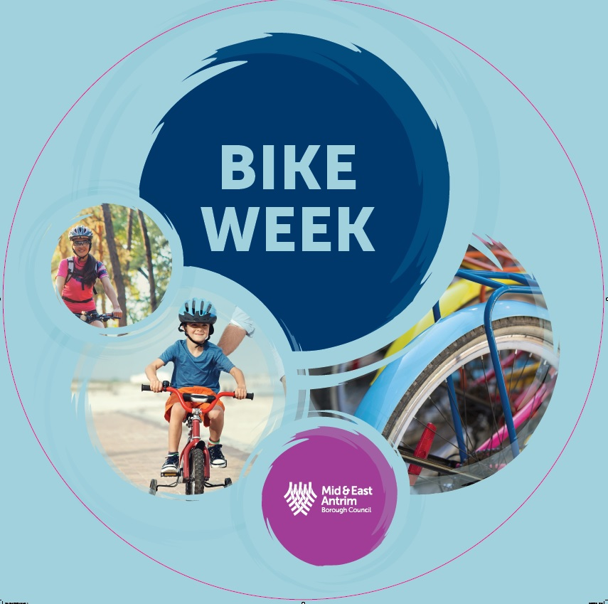 Mid and East Antrim Borough Council - Bike Week banner image
