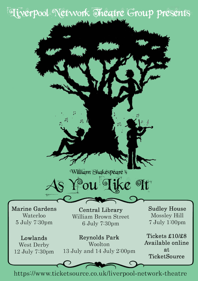 As You Like It banner image