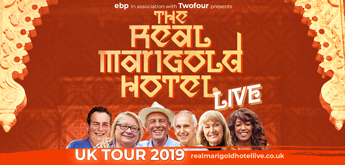 The Real Marigold Hotel LIVE banner image