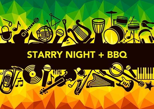 STARRY NIGHT + BBQ banner image