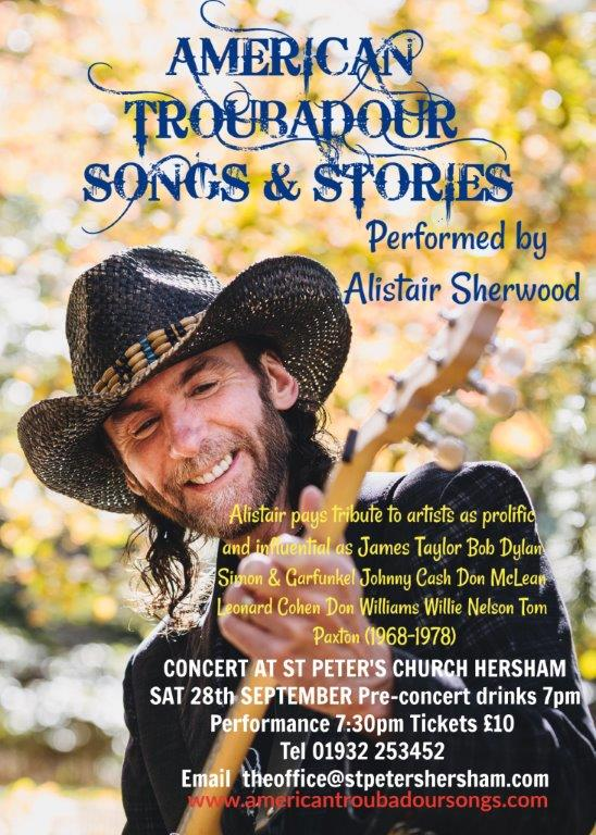AMERICAN TROUBADOUR SONGS AND STORIES banner image
