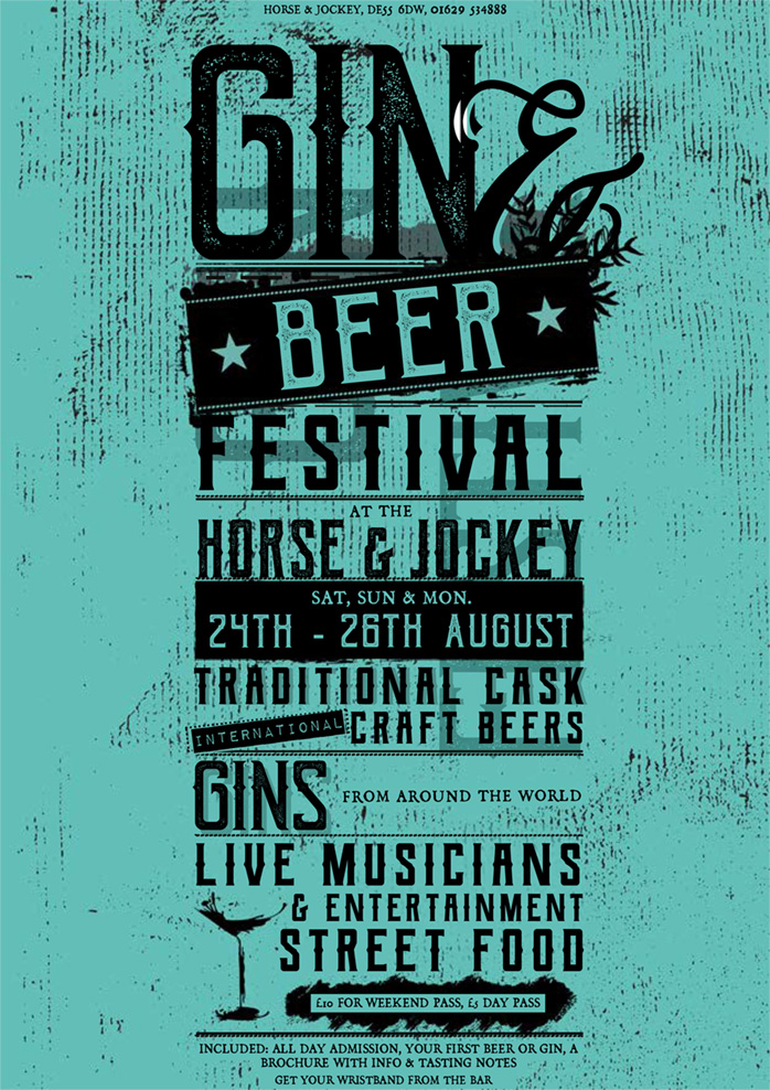 Gin & Beer Festival - Saturday 24th August 2019 banner image