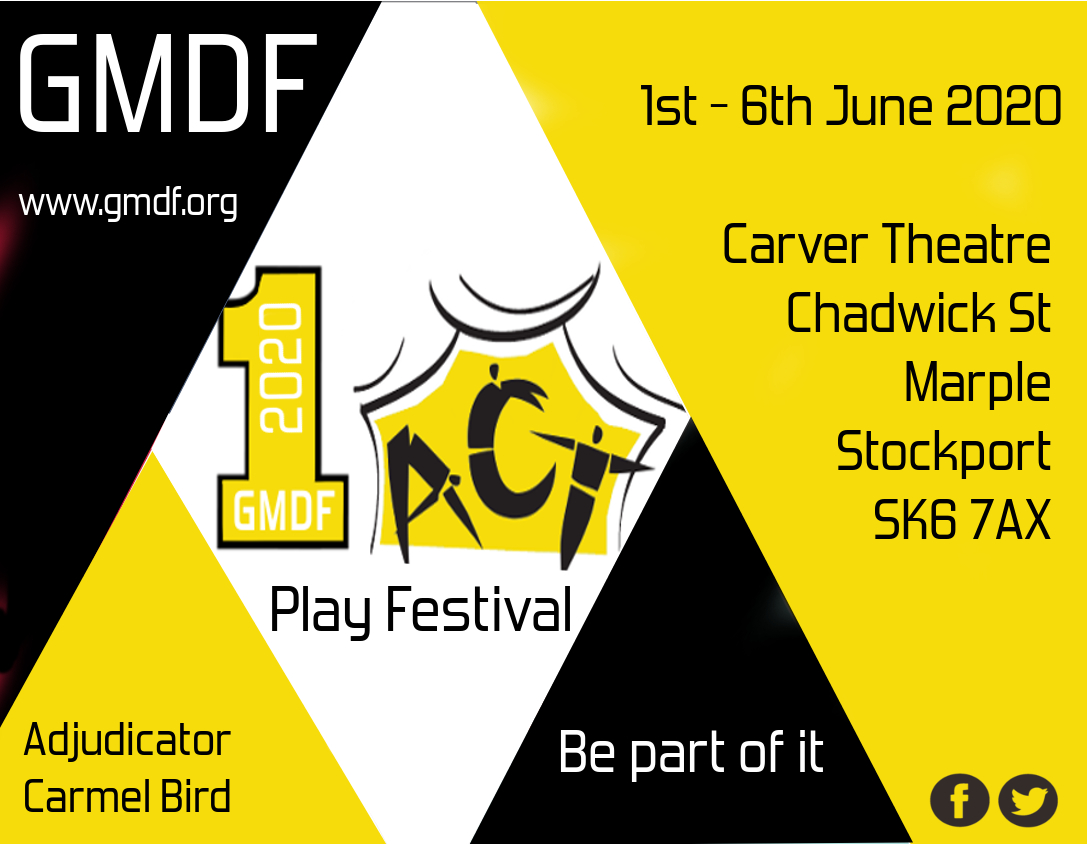 GMDF 2020 One Act Play Festival banner image