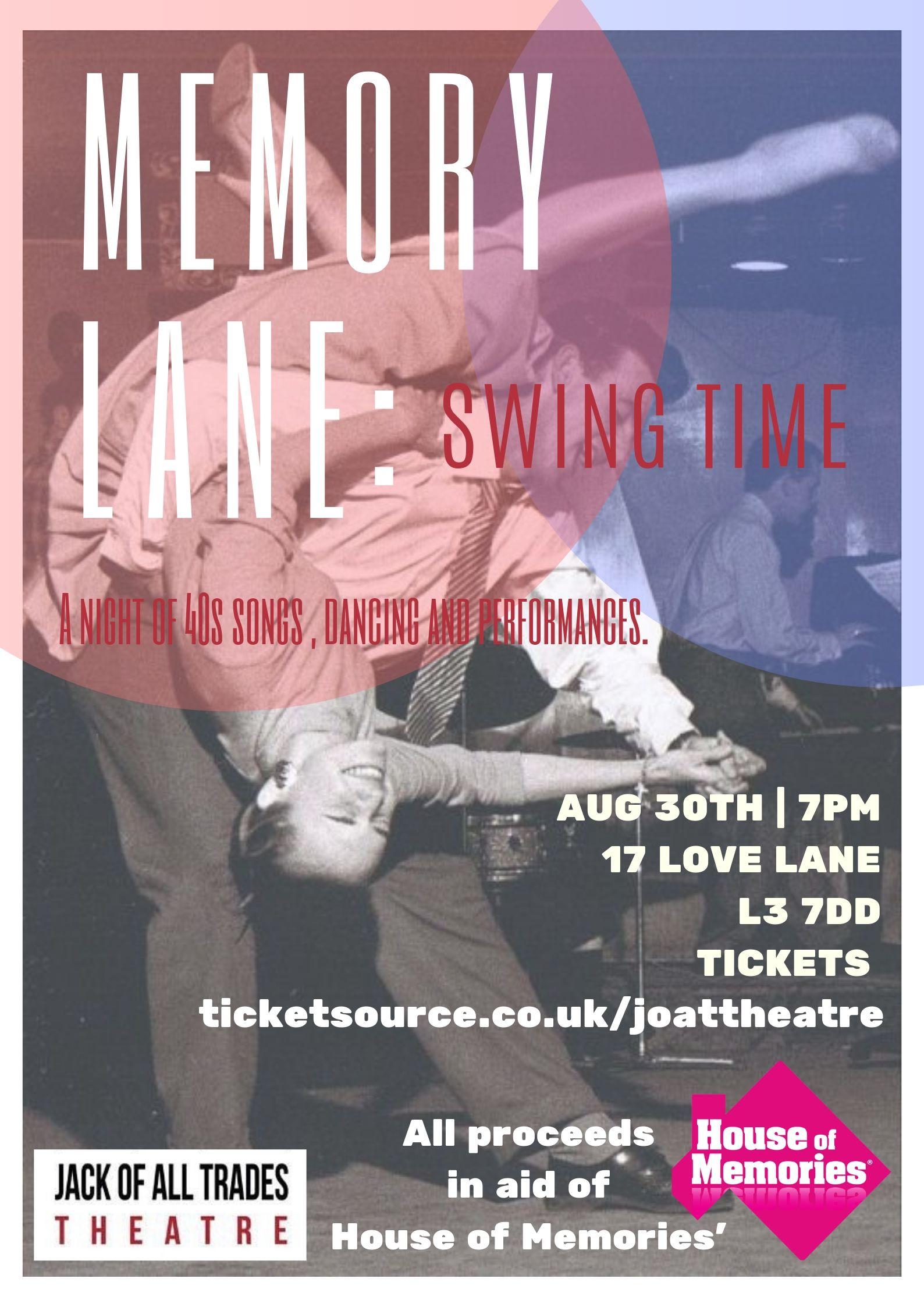 MEMORY LANE : Swing Time banner image
