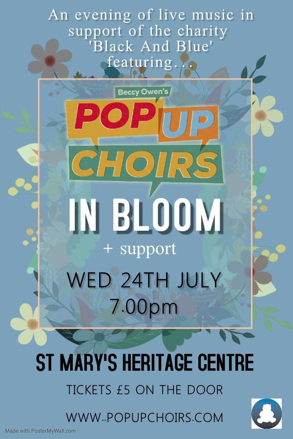 Beccy Owen's Pop Up Choir IN BLOOM banner image