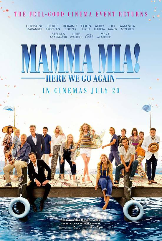 Mamma Mia, Here We Go Again! - Open Air Film Screening banner image