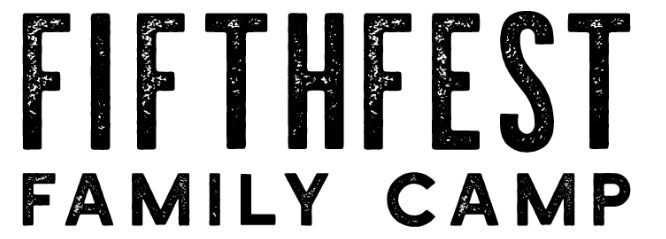 FIFTHFEST FAMILY CAMP (13th - 15th September 2019) banner image