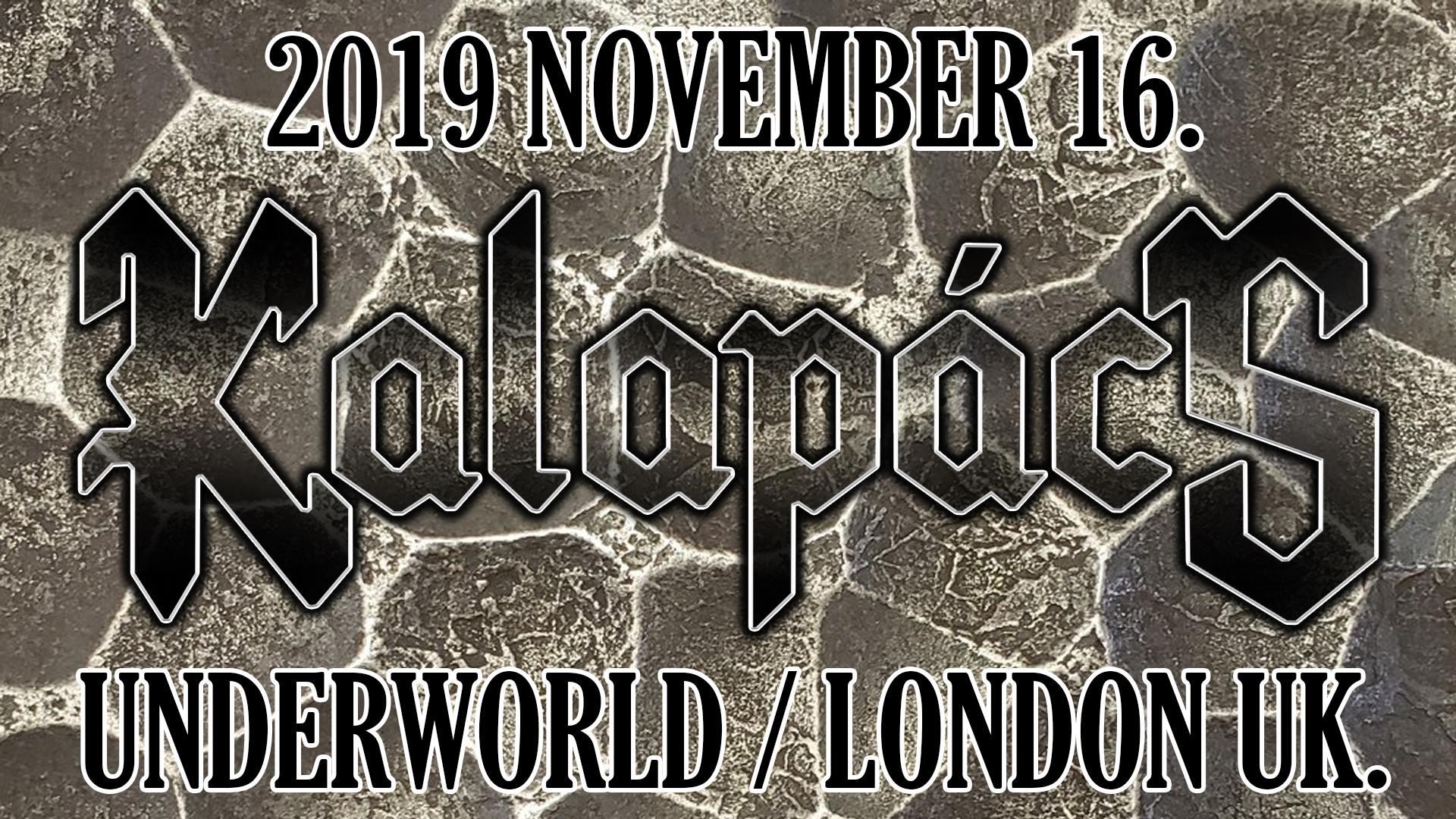 Kalapács koncert - London banner image