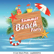 Summer Beach Party banner image