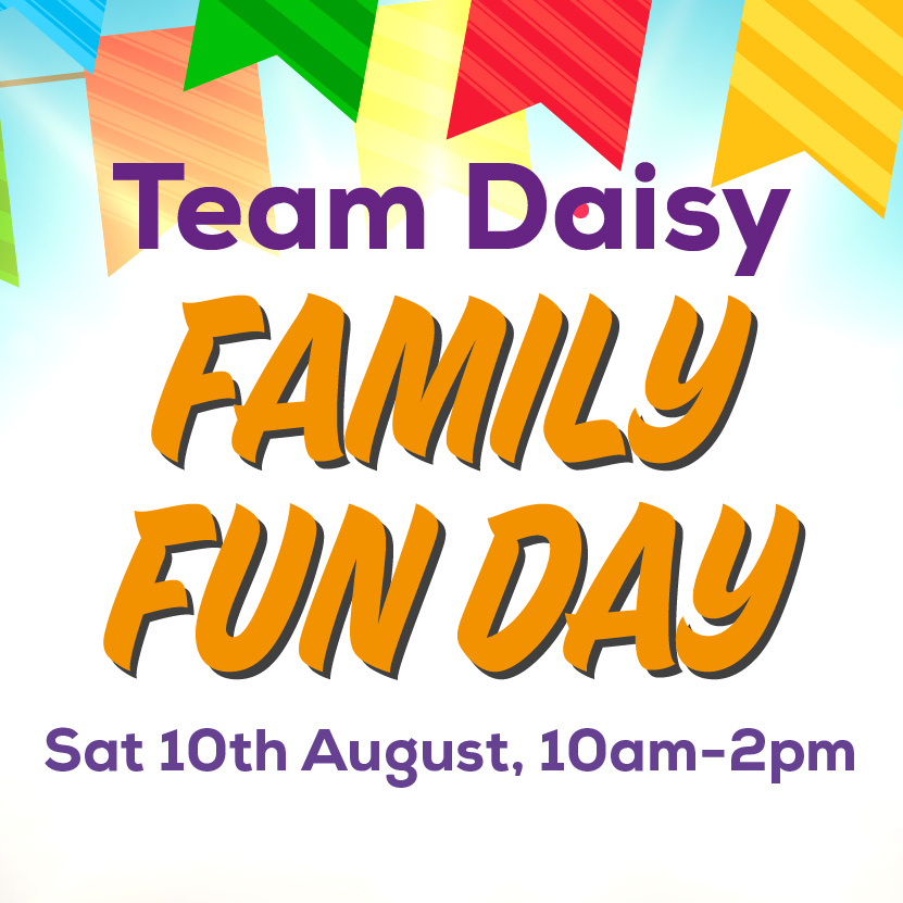 Daisy Family Fun Day banner image