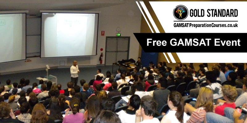Free GAMSAT Seminar at Imperial College London | Gold Standard GAMSAT banner image