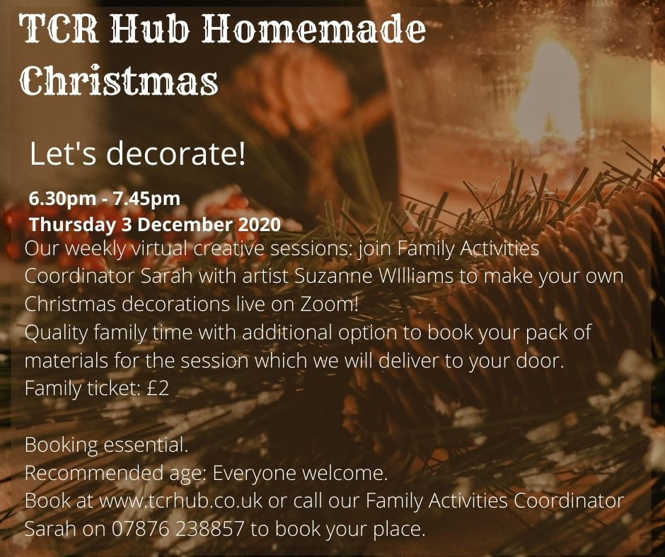 Homemade Christmas Let S Decorate Together At Online Event Tickets From Ticketsource