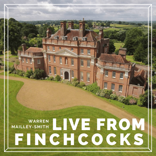 Warren Mailley-Smith: Live from Finchcocks - Spring Hopes banner image
